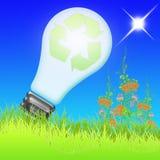 Energia di Eco (02) Immagini Stock