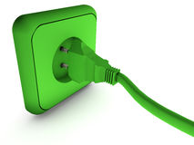 Energia di Enchufe y Fotografia Stock