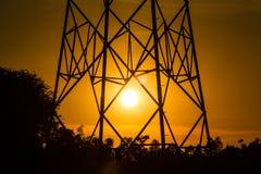 Energia di indicatore luminoso Immagine Stock