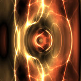 Energia di ondeggiamento di Swirly illustrazione vettoriale
