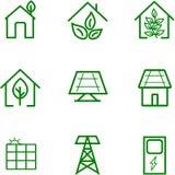 Energia di rinnovamento del sole per progettazione illustrazione di stock