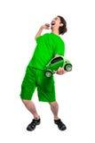 Energia di risparmio e verde andante Fotografia Stock Libera da Diritti
