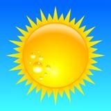 Energia di Sun illustrazione vettoriale