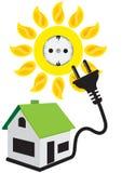 Energia di Sun Immagini Stock