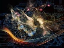 Energia di tecnologia Fotografie Stock Libere da Diritti