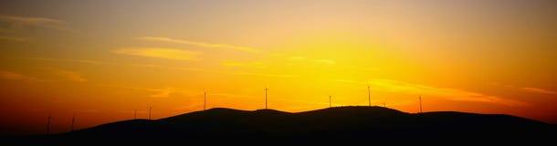 Energia di tramonto Fotografia Stock