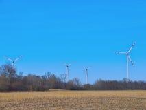 Energia di vento Fotografie Stock