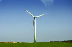 Energia di vento bianca fotografia stock libera da diritti