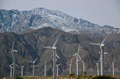 Energia di vento, Palm Spring, California Fotografie Stock Libere da Diritti