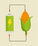 Energia di verde di Eco Fotografie Stock