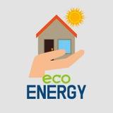 Energia di verde di Eco Fotografie Stock Libere da Diritti