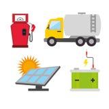 Energia di verde di Eco Immagini Stock Libere da Diritti