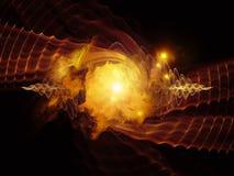 Energia di vortice illustrazione vettoriale