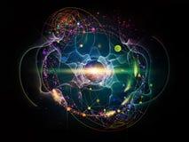 Energia do átomo imagens de stock