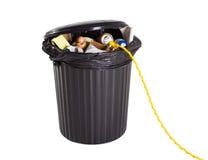 Energia do desperdício Imagem de Stock
