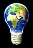 Energia do globo Fotografia de Stock Royalty Free