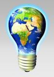 Energia do globo Imagens de Stock Royalty Free