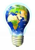 Energia do globo Foto de Stock Royalty Free