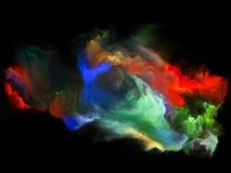 Energia do movimento da cor ilustração do vetor