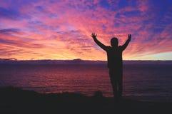 A energia do nascer do sol imagem de stock royalty free