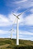 Energia eólia Foto de Stock