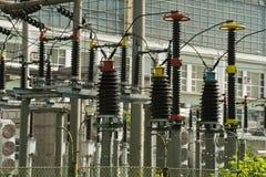Energia e central energética Foto de Stock Royalty Free