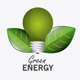 Energia e ecologia verdes Fotografia de Stock
