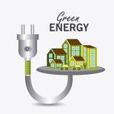 Energia e ecologia verdes Imagens de Stock Royalty Free