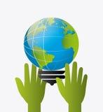 Energia e ecologia verdes Fotografia de Stock Royalty Free