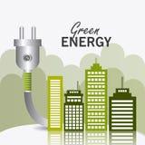 Energia e ecologia verdes Foto de Stock