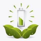 Energia e ecologia verdes Fotos de Stock Royalty Free
