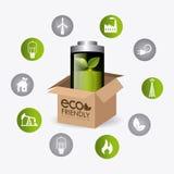 Energia e ecologia verdes Imagem de Stock Royalty Free