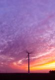 Energia e por do sol Foto de Stock Royalty Free