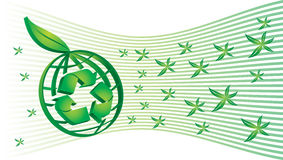 Energia e potência verdes Fotografia de Stock