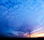 Energia e tramonto Fotografia Stock Libera da Diritti