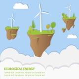 Energia ecologica Immagine Stock Libera da Diritti