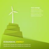 Energia ecologica Fotografia Stock Libera da Diritti