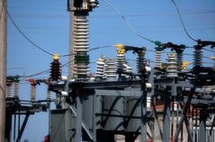 Energia elétrica imagens de stock royalty free