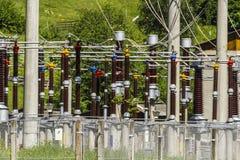 Energia elettrica Fotografie Stock