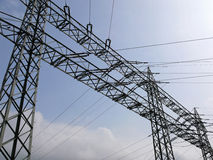 Energia elettrica Immagini Stock