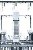 Energia elettrica ad alta tensione Fotografia Stock Libera da Diritti