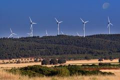 Energia Eolian Imagem de Stock