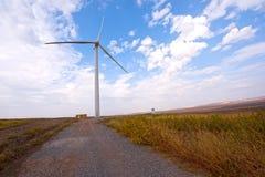 Energia eolica Immagini Stock Libere da Diritti