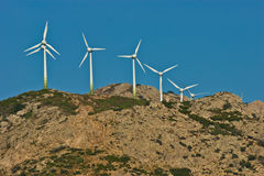 Energia eolica - immagine stock libera da diritti