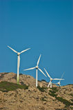 Energia eolica - immagini stock libere da diritti