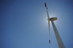 Energia eolica Fotografie Stock Libere da Diritti