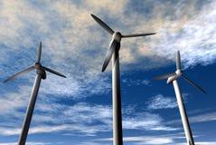 Energia eolica royalty illustrazione gratis