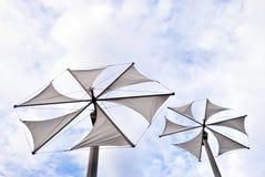 Energia eolica Immagine Stock