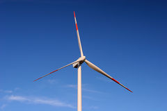 Energia eolica. Energy cleaned up from the force of the wind Royalty Free Stock Photos