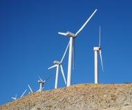 Energia eolica della California fotografie stock libere da diritti